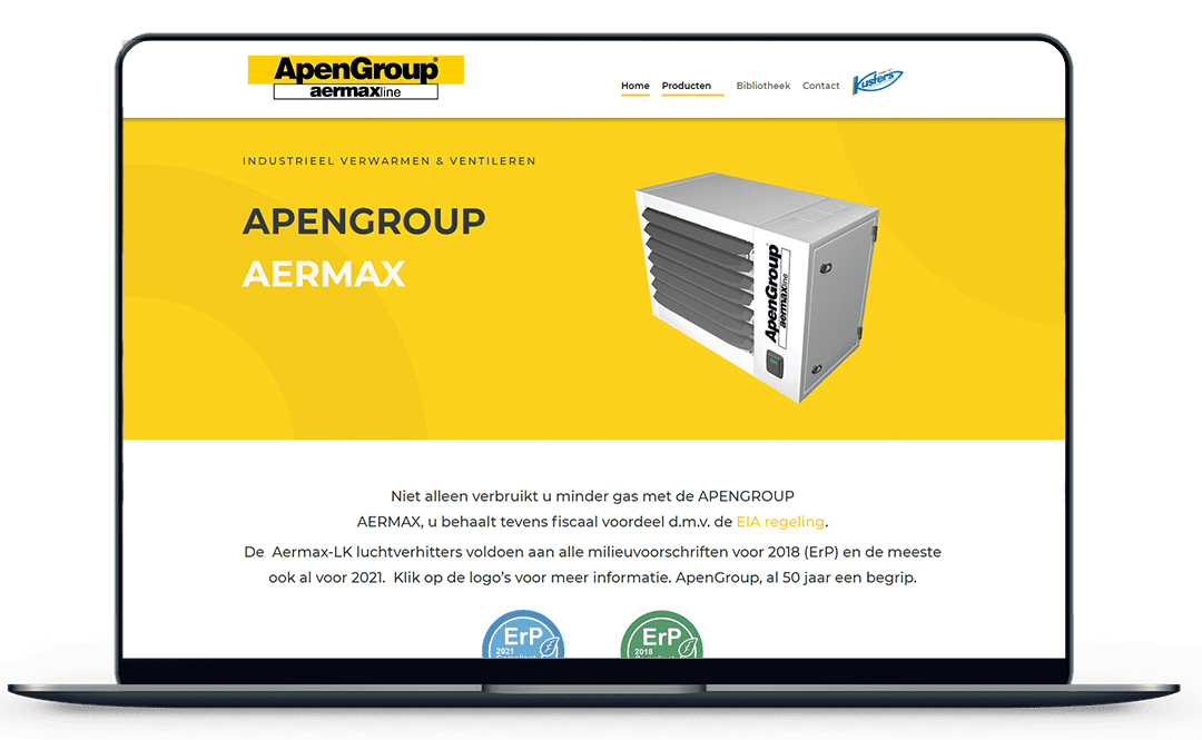 Apengroup-website-mockup