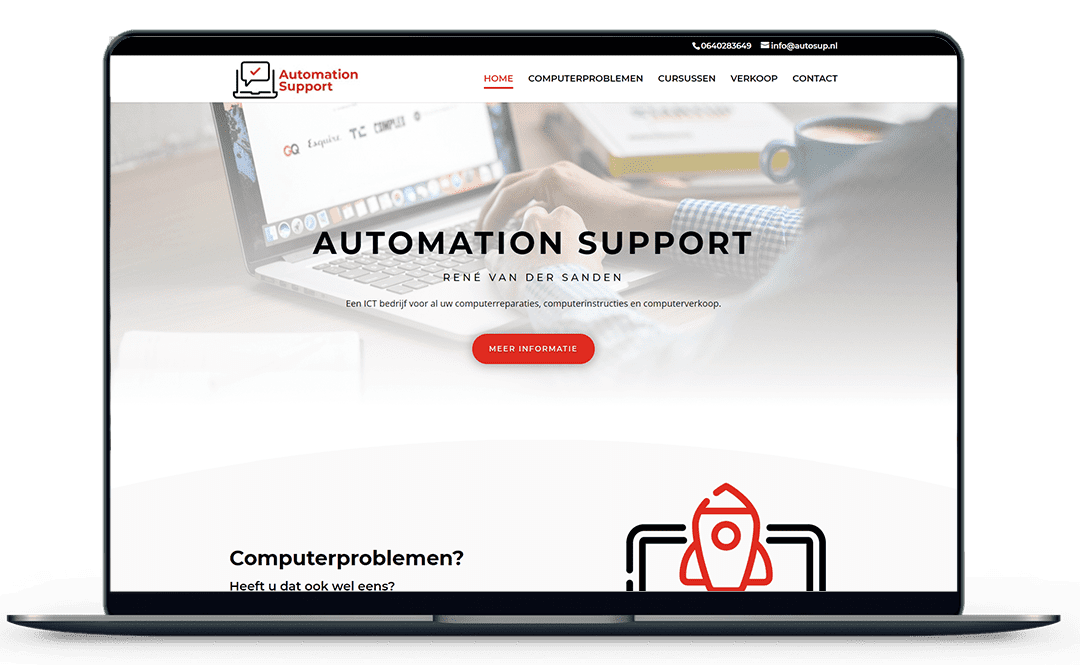 Automationsupport-website-mock-up
