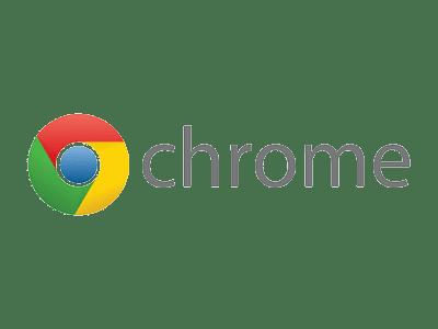 Websites worden het beste weergegeven op Google Chrome