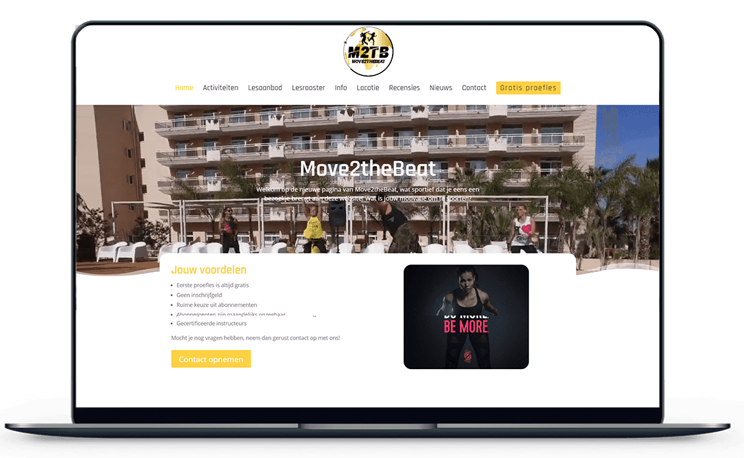 Move2thebeat-website-mockup