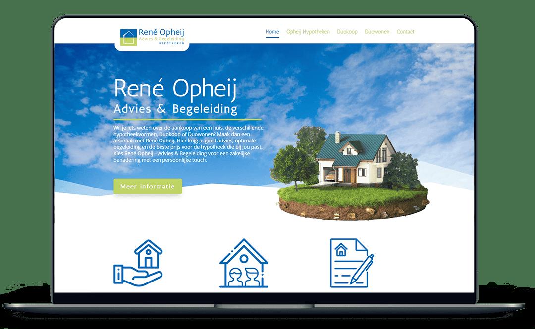 Website voor hypotheek adviseur