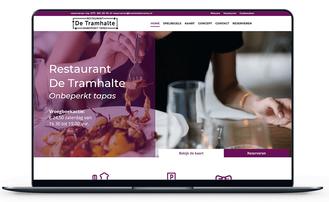 Restaurant-de-tramhalte-website-mockup